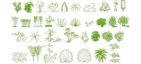 pin  dwg indir  bitki ve agaclar