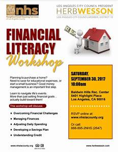 City Council President Herb Wesson   Financial Literacy ...