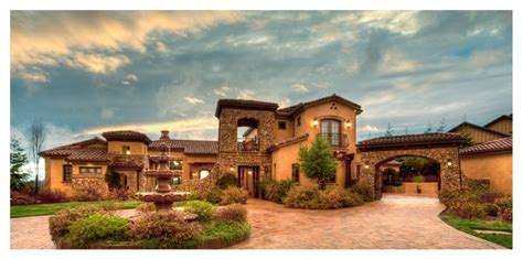 Mediterranean & Tuscan Homes