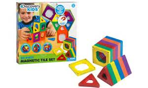 discovery kids toy magnetic tiles groupon