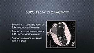 Facts About Boron