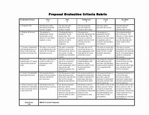 Proposal evaluation-criteria-rubric smaller margins