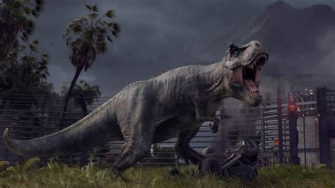 jurassic world evolution announcement trailer box office buz