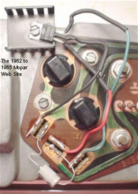 mopar voltage regulator upgrade