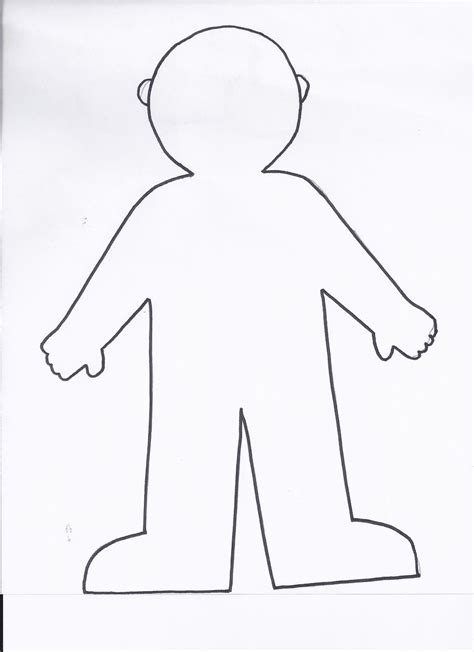Flat Stanley Template Printable by Flat Stanley Coloring Page Printable Coloring Pages