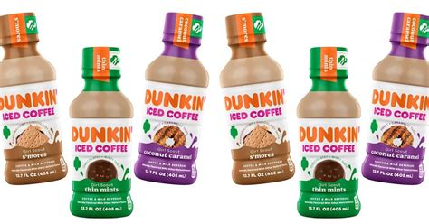 See more ideas about dunkin, dunkin iced coffee, dunkin donuts. Dunkin' Is Dropping Three New Girl Scout Cookie Iced Coffees