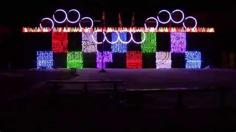 frozen let it go christmas lights 2014 west middle remix