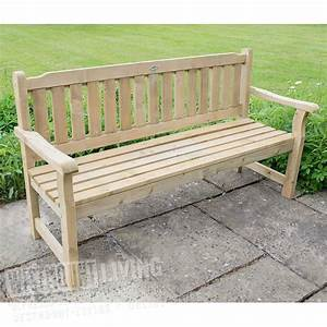 5ft garden bench pressure treated westmount living With robe bench