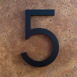 House numbers black home ideas for Black house numbers and letters