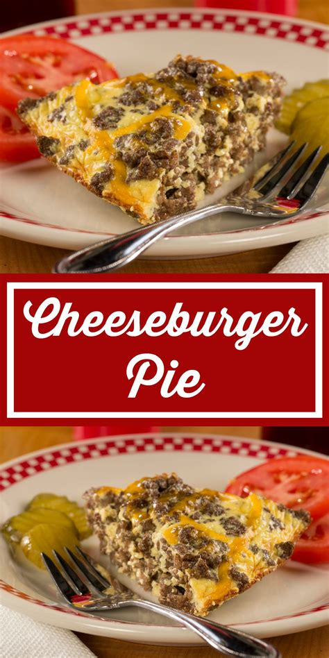 However, the leaner the cut, the lower the vitamin we've compiled a list of ground beef recipes that are pretty epic. Cheeseburger Pie | Recipe | Diabetic recipe with ground beef, Diabetic recipes for dinner ...
