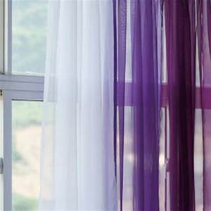 sheer dark purple and white silk curtain window treatment With sheer lavender curtains