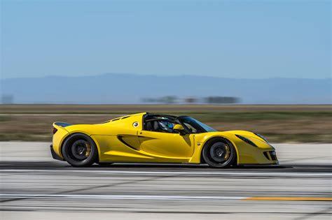 Hennessey Venom GT : Hennessey Venom Gt Spyder Is The World's Fastest Convertible