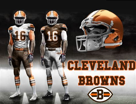 The Cleveland Browns Uniforms We All Deserve (credit Eric