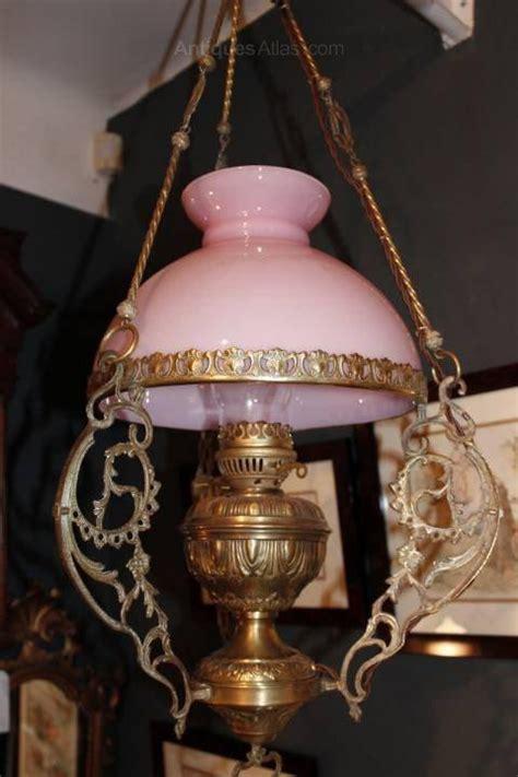 antique hanging l antiques atlas hanging converted l