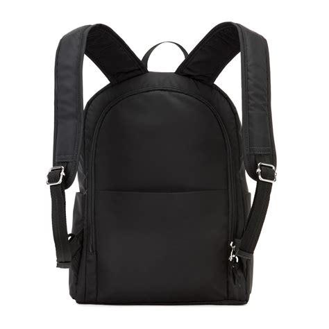 anti theft backpack stylesafe  black