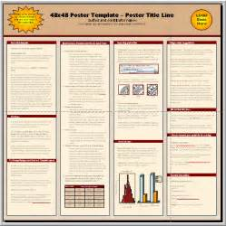 scientific poster template professional poster presentation psd templates pet land info
