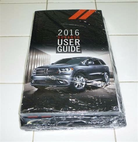 dodge ram user guide owners manual set wcase  dvd