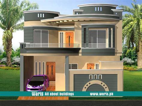 waris house  view elevation   gujranwala