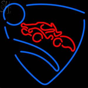Custom Rocket League Logo Neon Sign 1