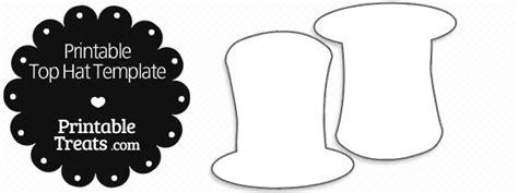 top hat template printable top hat template printable treats