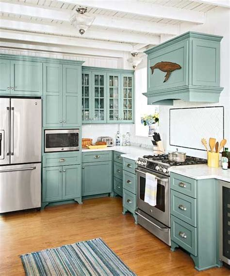 teal kitchen ideas 32 amazing beach inspired kitchen designs digsdigs