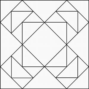 Cool geometric design clipart