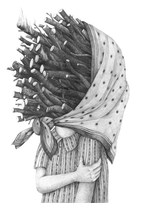 graphite portraits  people inconvenienced  objects
