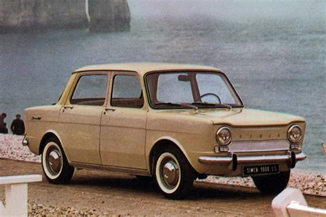 Simca 1000 - the story of France's OTHER rear-engined ...