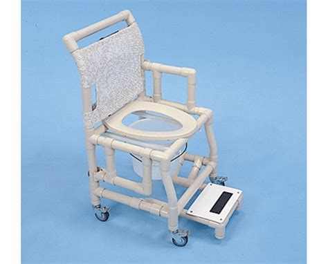shower chair 18 quot commode seat footrest free shipping