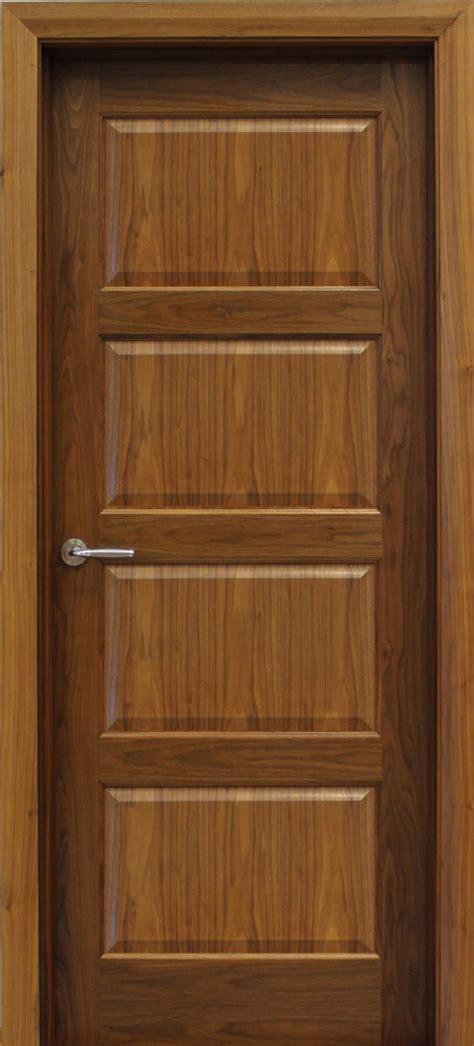 contemporary  panel walnut door mm internal doors