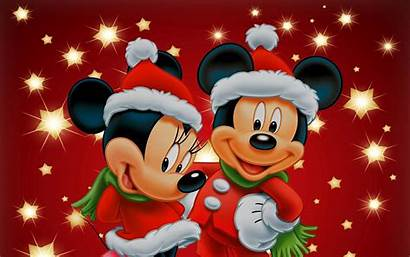 Mickey Mouse Christmas Minnie Wallpapers Backgrounds Merry