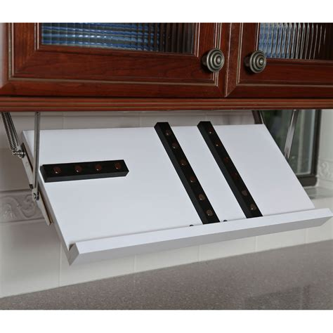 Counter Storage Cabinet by Cabinet Knife Block White In Knife Storage