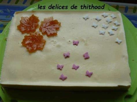 recettes de creme fleurette et desserts