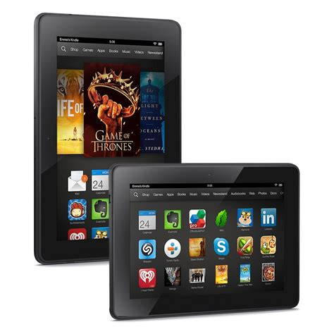 iPad Mini vs. Nvidia Shield Tablet vs. Kindle Fire HDX