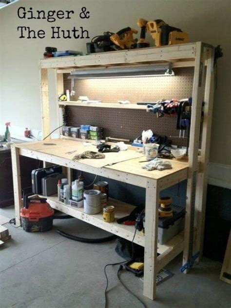 diy portable workbench plans    started