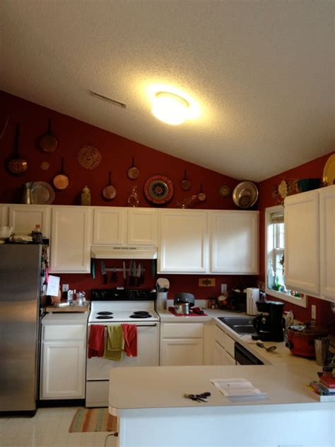 cathedral ceiling kitchen lighting ideas looking for budget lighting ideas for a small