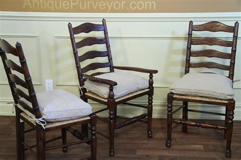 rustic ladder back chairs seats with upholstered seat