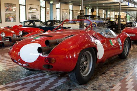1961 La Maserati Birdcage V12 Tipo 63 - Dark-Cars Wallpapers