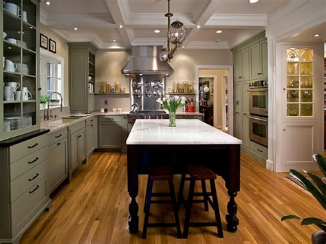 green kitchen island charming mint kitchen dalzell hgtv