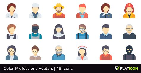 Office Of Professions by Color Professions Avatars 49 Premium Icons Svg Eps Psd