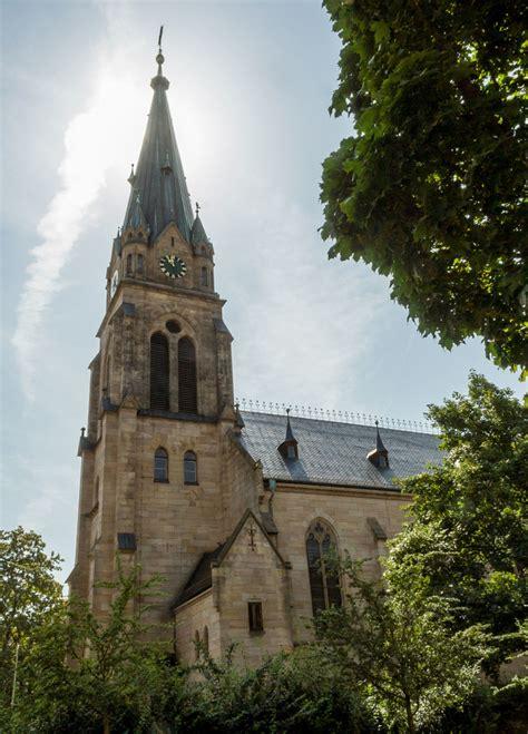 22.9.21 um 8:58 uhr sonstiges: Fürth - St. Paulskirche › Büchertürme