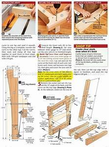 Glider Bench Plans • WoodArchivist