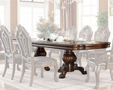 14 Traditional Style Home Decor Ideas That Are Still Cool: Traditional Style Dining Table MCFD3000-T