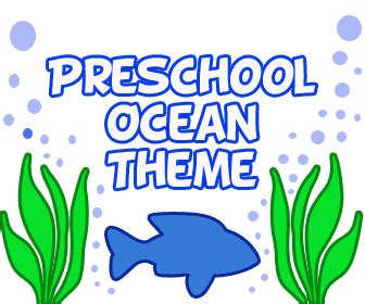 theme lesson plans for preschool preschool 810 | Ocean theme lessonplan