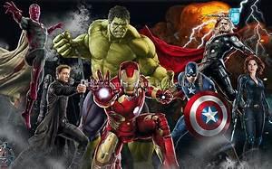 Avengers Photo Wallpaper Custom 3d Wallpaper For Walls ...