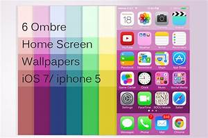 Ombre Wallpaper ios 7 Home Screen by artastichick on ...