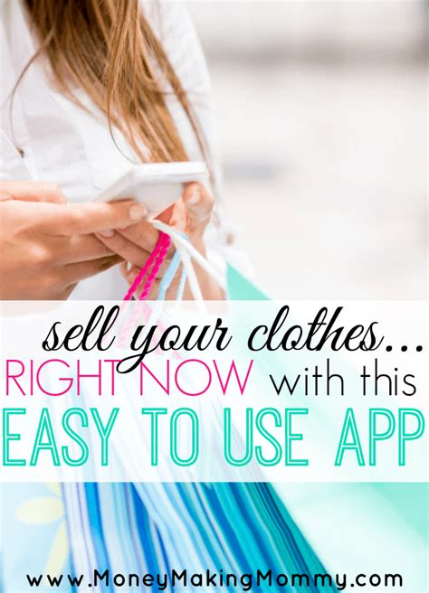 app for selling clothes in on your closet with this app