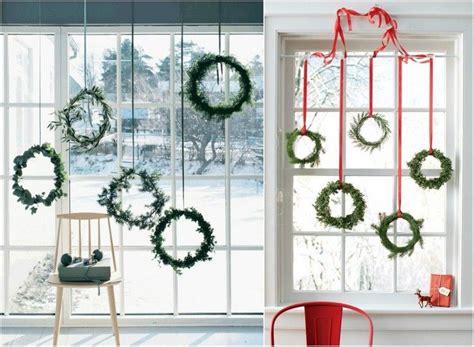 Weihnachtsdeko Bodentiefe Fenster bodentiefe fenster weihnachtlich dekorieren h 228 ngende