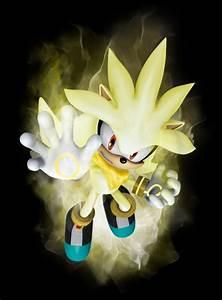 Dark Super Shadic The Hedgehog Super silver the hedgehog