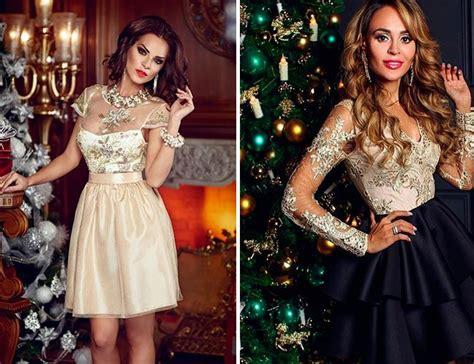 Трендовые новогодние наряды 2021 фото идеи изумительных платьев на Новый 2020 год . Lady Glamor